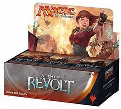Magic the Gathering TCG: Aether Revolt Booster Box