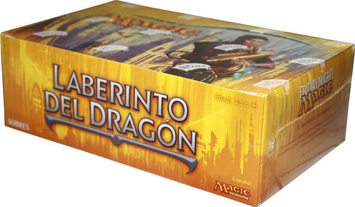 Magic the Gathering TCG: Dragons Maze/Laberinto del Dragon Booster Box [Spanish Language]