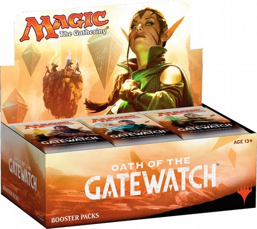 Magic the Gathering TCG: Oath of the Gatewatch Booster Box