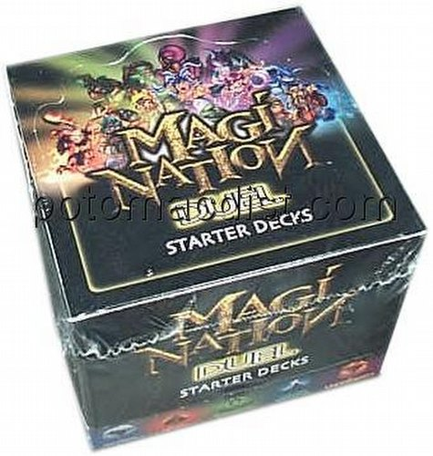 Magi-Nation CCG: Duel Starter Deck Box [1st Edition]