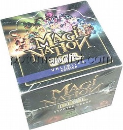 Magi-Nation CCG: Duel Starter Deck Box [Unlimited]