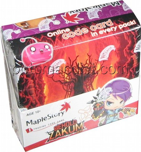 MapleStory iTrading Card Game [iTCG]: Behold Zakum Booster Box