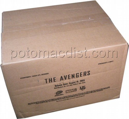 Marvel VS TCG: Avengers Booster Box Case[12 boxes]