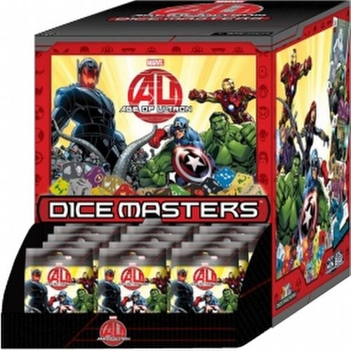 Marvel Dice Masters: Avengers - Age of Ultron Dice Building Game Gravity Feed Box
