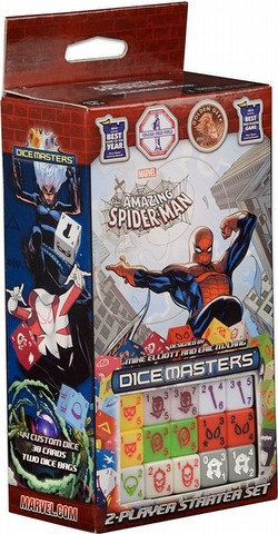Marvel Dice Masters: The Amazing Spider-Man Dice Building Game Starter Set Box