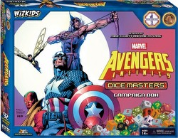 Marvel Dice Masters: Avengers Infinity Dice Building Game Campaign Box