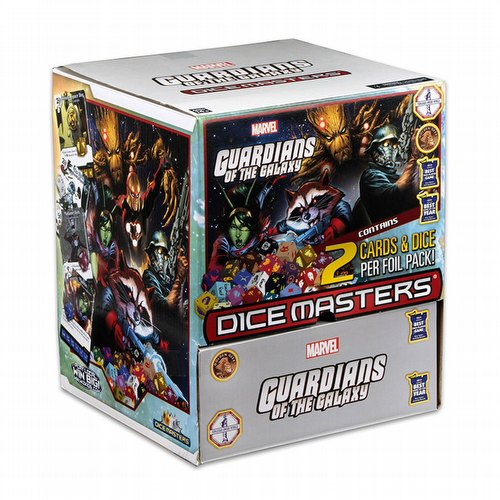 Marvel Dice Masters: Guardians of the Galaxy Dice Building Game Gravity Feed Box
