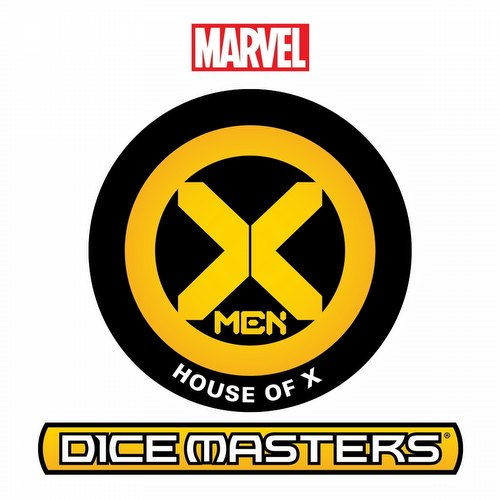 Marvel Dice Masters: House of X Dice Building Game Countertop Draft Pack Box