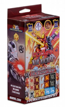 Marvel Dice Masters: Iron Man and War Machine Dice Building Game Starter Set Box