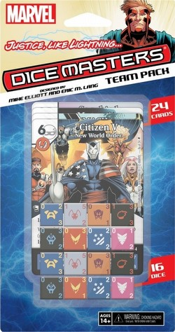 Marvel Dice Masters: Justice Like Lightning... Dice Building Game Team Pack