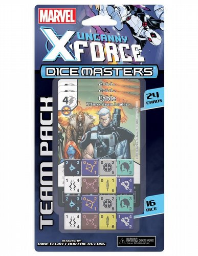Marvel Dice Masters: X-Force Dice Building Game Team Pack
