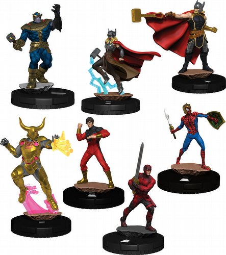 HeroClix: Marvel Avengers War of the Realms Booster Case [20 boosters]
