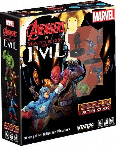 HeroClix: Marvel Battlegrounds - Avengers Vs Masters of Evil
