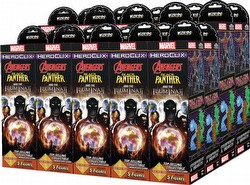 HeroClix: Marvel Secret Wars - Black Panther & The Illuminati Booster Case [20 boosters]