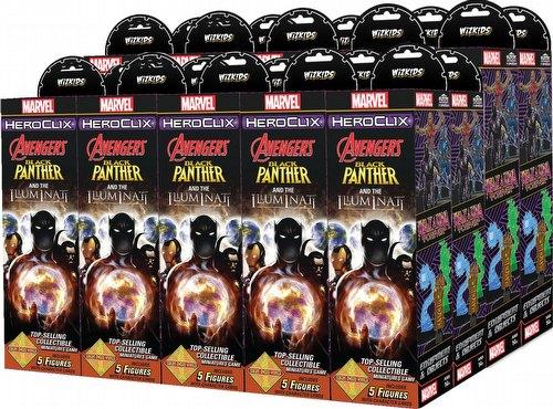 HeroClix: Marvel Secret Wars - Black Panther & The Illuminati Booster Case [20 boosters]