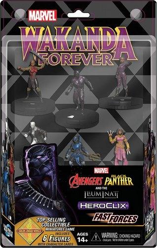 HeroClix: Marvel Secret Wars - Black Panther & The Illuminati Fast Forces Pack
