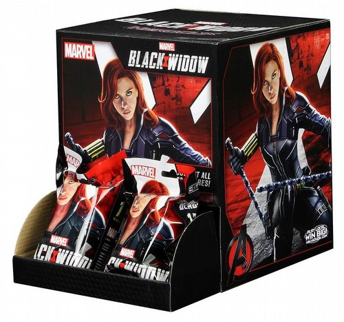 HeroClix: Marvel Black Widow Movie Countertop Display Box