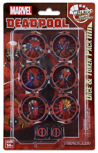 HeroClix: Marvel Deadpool Dice & Token Pack