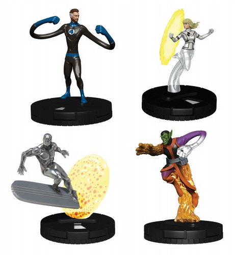 HeroClix: Fantastic Four Booster Case [20 boosters]
