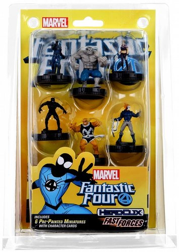 HeroClix: Marvel Fantastic Four Fast Forces Pack
