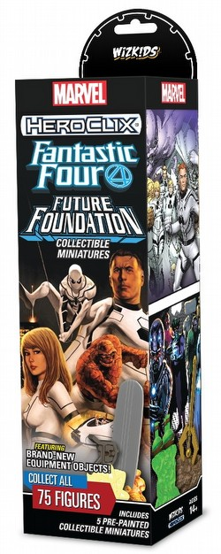 HeroClix: Marvel Fantastic Four Future Foundation Booster Case [20 boosters]