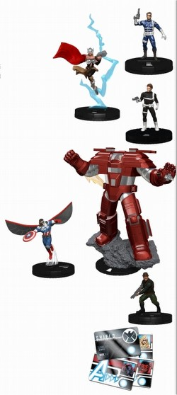 HeroClix: Marvel Nick Fury - Agent of S.H.I.E.L.D. Booster Brick [10 boosters]