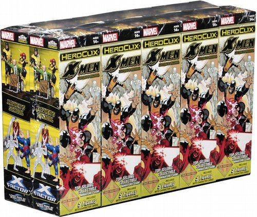 HeroClix: Marvel X-Men First Class Booster Case [20 boosters]