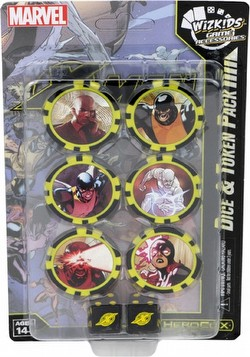 HeroClix: Marvel X-Men First Class (Time Displaced) Dice & Token Pack