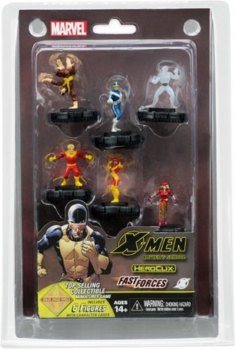 HeroClix: Marvel X-Men First Class Fast Forces Pack