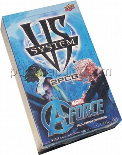 Marvel VS 2-Player Card Game A-Force Expansion Set Box