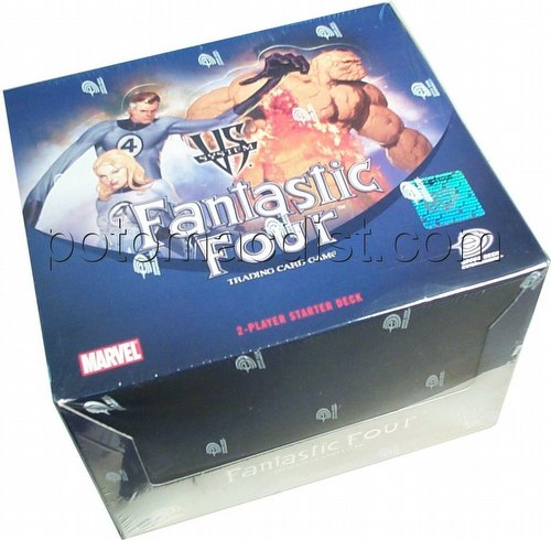 Marvel VS TCG: Fantastic Four 2-Player Starter Deck Box