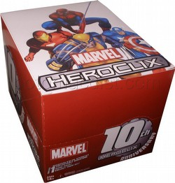 HeroClix: Marvel 10th Anniversary Countertop Display Box