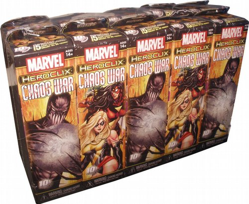 HeroClix: Marvel Chaos War Booster Brick [10 boosters]
