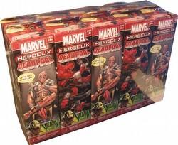 HeroClix: Marvel Deadpool Booster Brick [10 boosters]