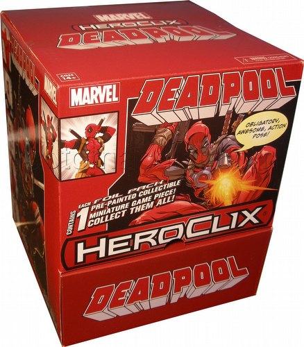 HeroClix: Marvel Deadpool Gravity Feed Box