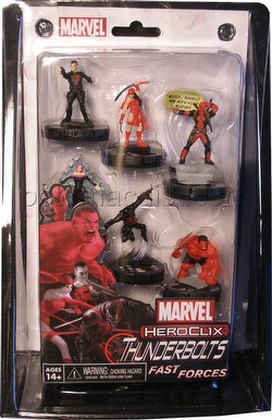 HeroClix: Marvel Deadpool Thunderbolts Fast Forces Pack
