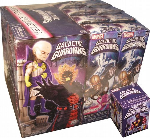 HeroClix: Marvel Galactic Guardians Booster Brick [8 regular boosters/1 super booster]