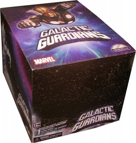 HeroClix: Marvel Galactic Guardians Primer Display Box