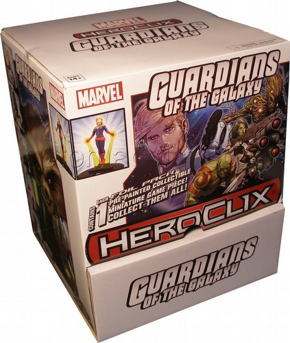 HeroClix: Marvel Guardians of the Galaxy Gravity Feed Box