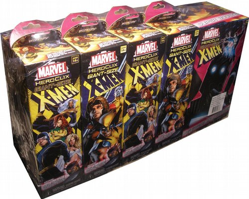 HeroClix: Marvel Giant-Sized X-Men Brick (Half Case) [8 regular boosters/1 super booster]
