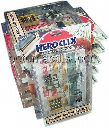 HeroClix: Marvel Indoor Adventure Pack [6 packs]