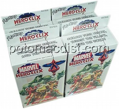 HeroClix: Marvel Infinity Challenge [4 starters]