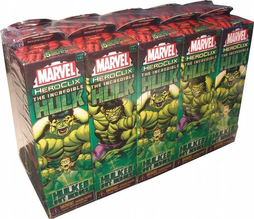 HeroClix: Marvel Incredible Hulk Booster Brick [10 boosters]