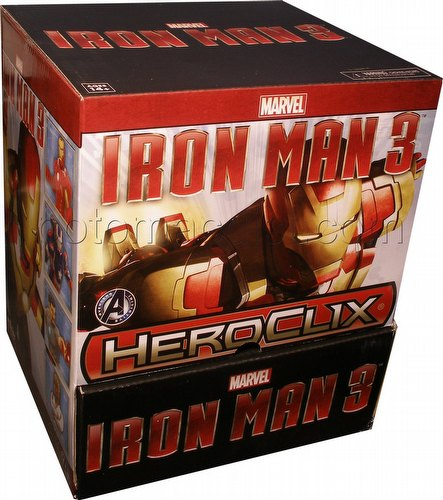 HeroClix: Marvel Iron Man 3 Movie Gravity Feed Box