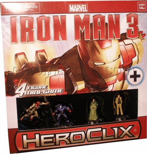 HeroClix: Marvel Iron Man 3 Movie Mini Game Box