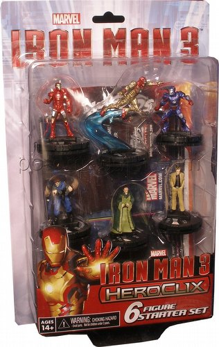 HeroClix: Marvel Iron Man 3 Movie 6-Figure Starter Set