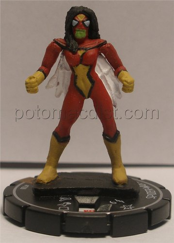 HeroClix: Marvel Secret Invasion Spider-Woman Limited Edition Figure (#100)