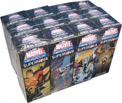 HeroClix: Marvel Supernova ClixBrick [12 boosters]