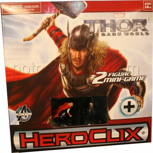 HeroClix: Marvel Thor - The Dark World Movie Mini Game Box