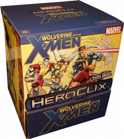 HeroClix: Marvel Wolverine and the X-Men Gravity Feed Box